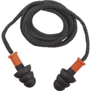 DELTAPLUS CONICFIRO 10 Zátky do uší, modrá/oranžová, 10 kusov