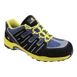 DELTAPLUS XR302 Bezpečnostná obuv S1P SRC, veľkosť 43, čierna/žltá