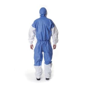 3M 4535 Ochranný odev, typ 5/6, veľkosť XXL, biela/modrá