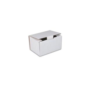 Jednodielna krabica s vekom , 175 x 130 x 100 mm, biela, 50 kusov