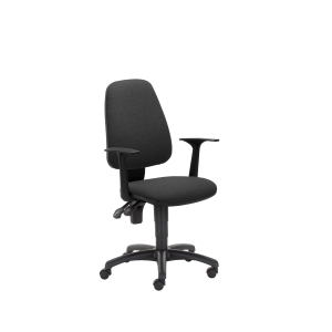Kancelárska ergonomická stolička Pirx, čierna