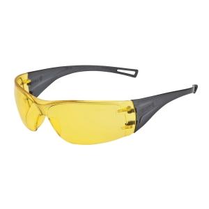Ochranné okuliare bezrámové, jantárovo žlté
