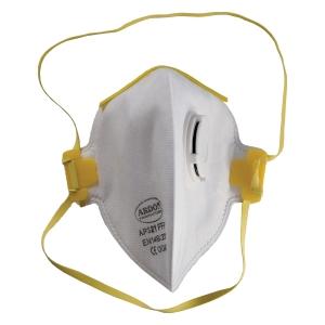 Respirátor s ventilom, skladací FFP1, 12 kusov v balení