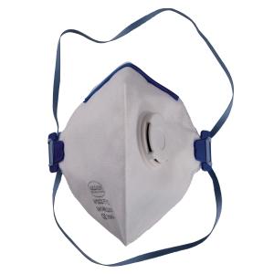 Respirátor s ventilom skladací FFP2, 12 kusov v balení