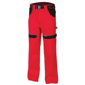 ARDON Cool Trend work trousers, red, size 50