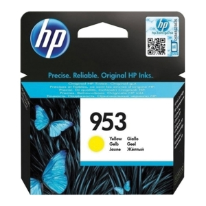 HP cartridge do atramentových tlačiarní OfficeJet, F6U14AE, žltý, HP kód: 953