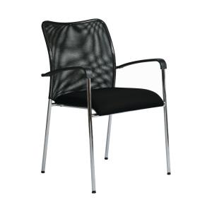 Konferenčná stolička Antares Spider D2, čierna