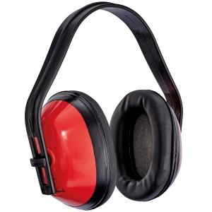 Chrániče sluchu, červené