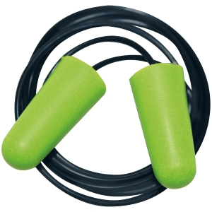 Jednorazové zátkové chrániče sluchu s lankom, 250 párov