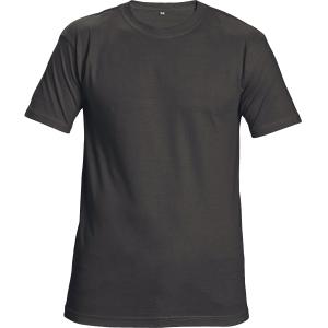 Unisexové tričko s krátkym rukávom, bavlna, veľkosť M, farba čierna