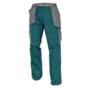 Pracovné nohavice ČERVA MAX EVOLUTION, veľkosť 50, zelená
