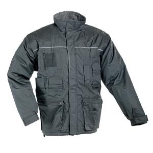 LIBRA Zimná bunda L sivá