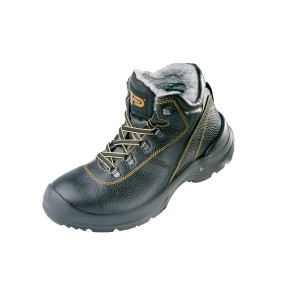 PANDA ORSETTO Zateplené topánky 45 čierna/žltá