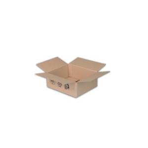 Klopové krabice 3-vrstvová lepenka, 195 x 145 x 92 mm, hnedé, 25 kusov