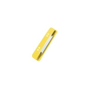 Esselte Úchytky do rýchloviazača, farba žltá, 100 kusov