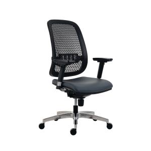 Kancelárska stolička Antares Fusion 1840 D5, šedá