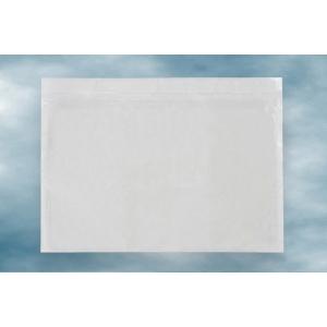 Samolepiace PE sprievodné obálky C4, 310 x 230 mm, transparentné, 500 kusov