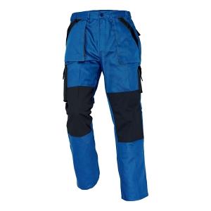 Pracovné nohavice ČERVA MAX, veľkosť 56, modré