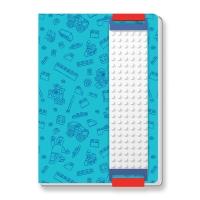 Lego Stationary jegyzetfüzet A5, 96 lap, kék