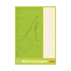 HERLITZ 690404 MILLIMETER PAPER A4 25S