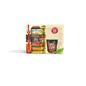 TEEKANNE GIFT PACK 3XWOF TEA + MUG