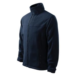 Adler férfi fleece melegítő felső, méret L, tengerészkék