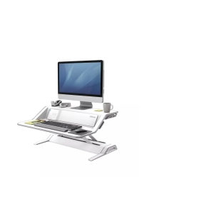 SIT-STAND WORKSTATION FELLOWES 8081101 LOTUS DX white