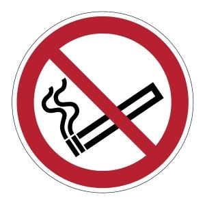 DURABLE biztonsági figyelmeztető címkék padlóra   Tilos a dohányzás