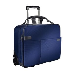Leitz Complete 15,6   görgős utazótáska, kék