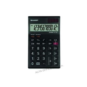 Sharp EL-124T asztali számológép, 12 számjegyű LCD kijelző