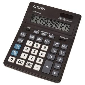 CITIZEN CDB1401 Business Line asztali számológép, fekete, 14 számjegy