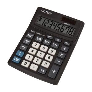 CITIZEN CMB801 Business Line asztali számológép, fekete, 8 számjegy