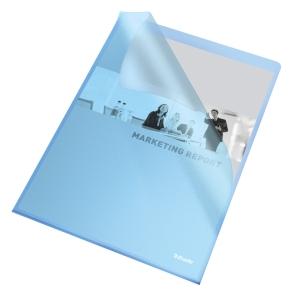 Esselte Standard genotherm L, A4, OP, 115 mic, 25 darab/csomag, kék