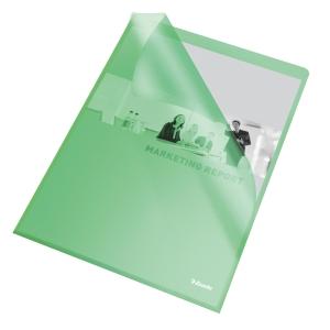 Esselte Standard genotherm L, A4, OP, 115 mic, 25 darab/csomag, zöld