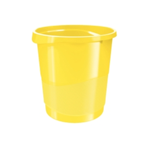 Esselte Europost VIVIDA papírkosár, 14 l, sárga