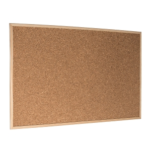 ESSELTE CORK NOTICEBOARD ECONOMY 60X90CM