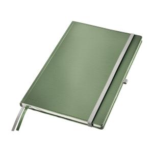 Leitz STYLE A4 jegyzetfüzet, keményfedeles, vonalas, zöldes