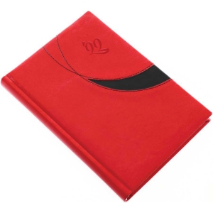 PREMIUM M A5 DAILY DIARY 14.5X20.5CM RED