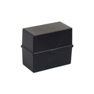 EXACOMPTA CARD INDEX BOX A6 BLACK