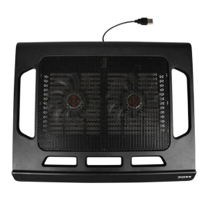 PORT DESIGNS laptop hűtőpad, fekete