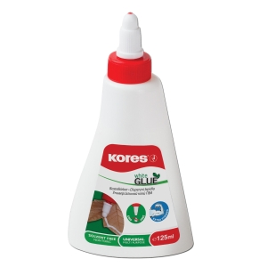 KORES 75825 WHITE GLUE 125ML