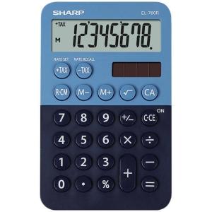 SHARP EL760R zsebszámológép, kék