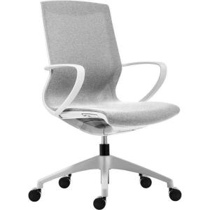 Antares Vision irodai szék, elefántcsont & fehér