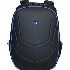 """BESTLIFE 17"""" hátizsák, kifejezetten játékosok számára tervezve, fekete-kék"""