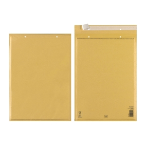 Herlitz bubble envelopes, 320 x 455 mm, brown, 100 pcs