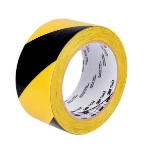 3M™ 766i jelölőszalag, 50 mm x 33m, sárga-fekete