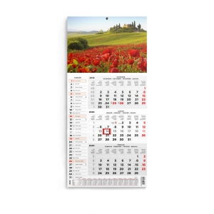 TOPTIMER SPEDITION WALL CALENDAR T0077