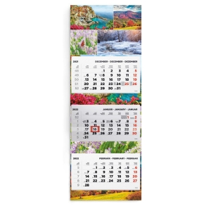 TOPTIMER SPEDITION WALL CALENDAR T008009