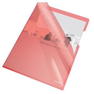 Esselte Standard genotherm L, A4, OP, 150 mic, 25 darab/csomag, piros