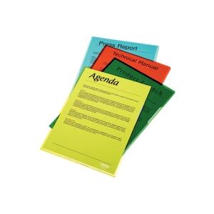 Esselte Standard genotherm L, A4, OP, 150 mic, 25 darab/csomag, sárga